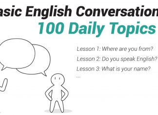 Basic English Conversation 100 Daily Topics-01