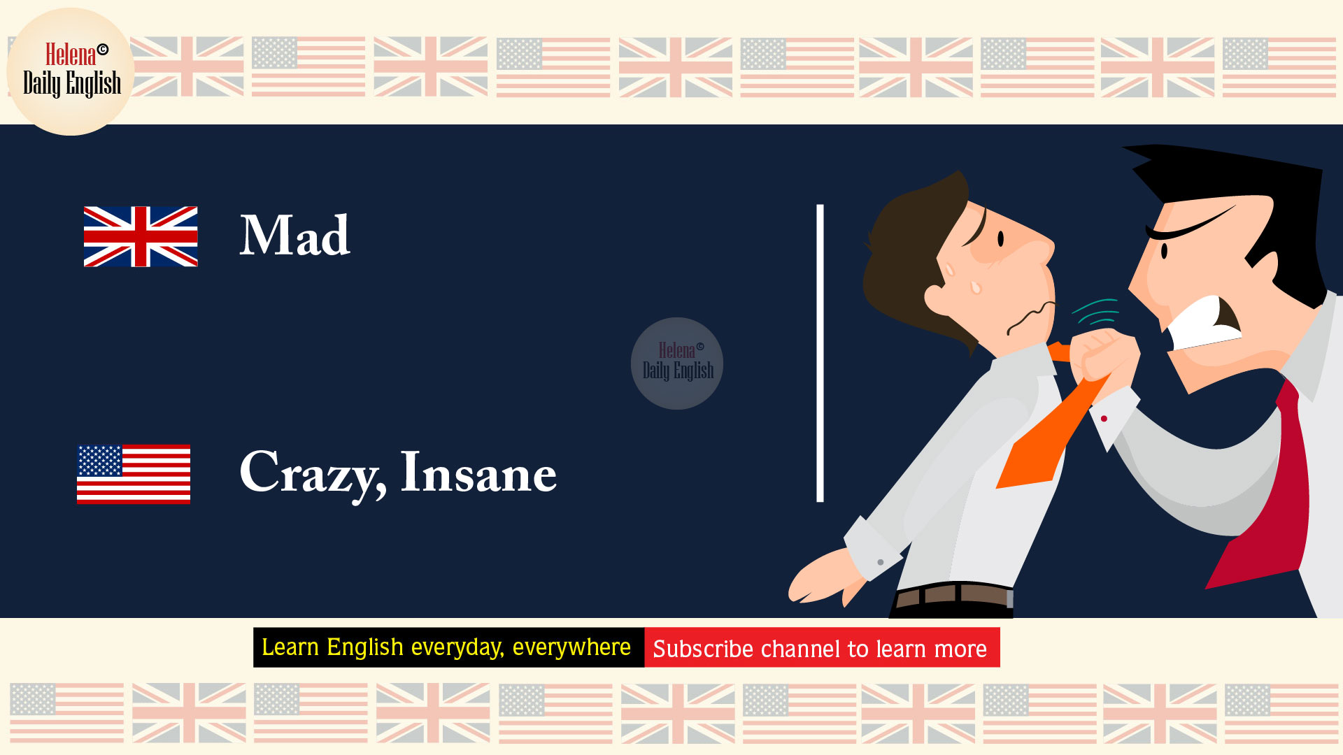 The Differences Between American And British English