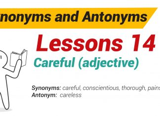 Synonyms and Antonyms Dictionary 14-01
