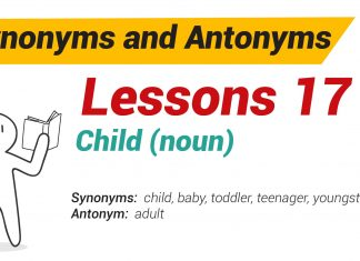 Synonyms and Antonyms Dictionary 17-01