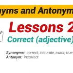 Synonyms and Antonyms Dictionary 25-01