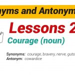 Synonyms and Antonyms Dictionary 26-01