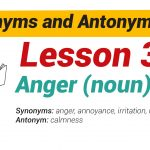 Synonyms and Antonyms Dictionary -Lesson3-01