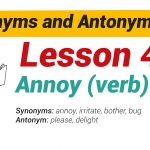 Synonyms and Antonyms Dictionary -Lesson4-01