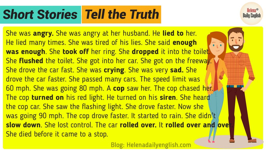 Short Stories in English: Tell the Truth