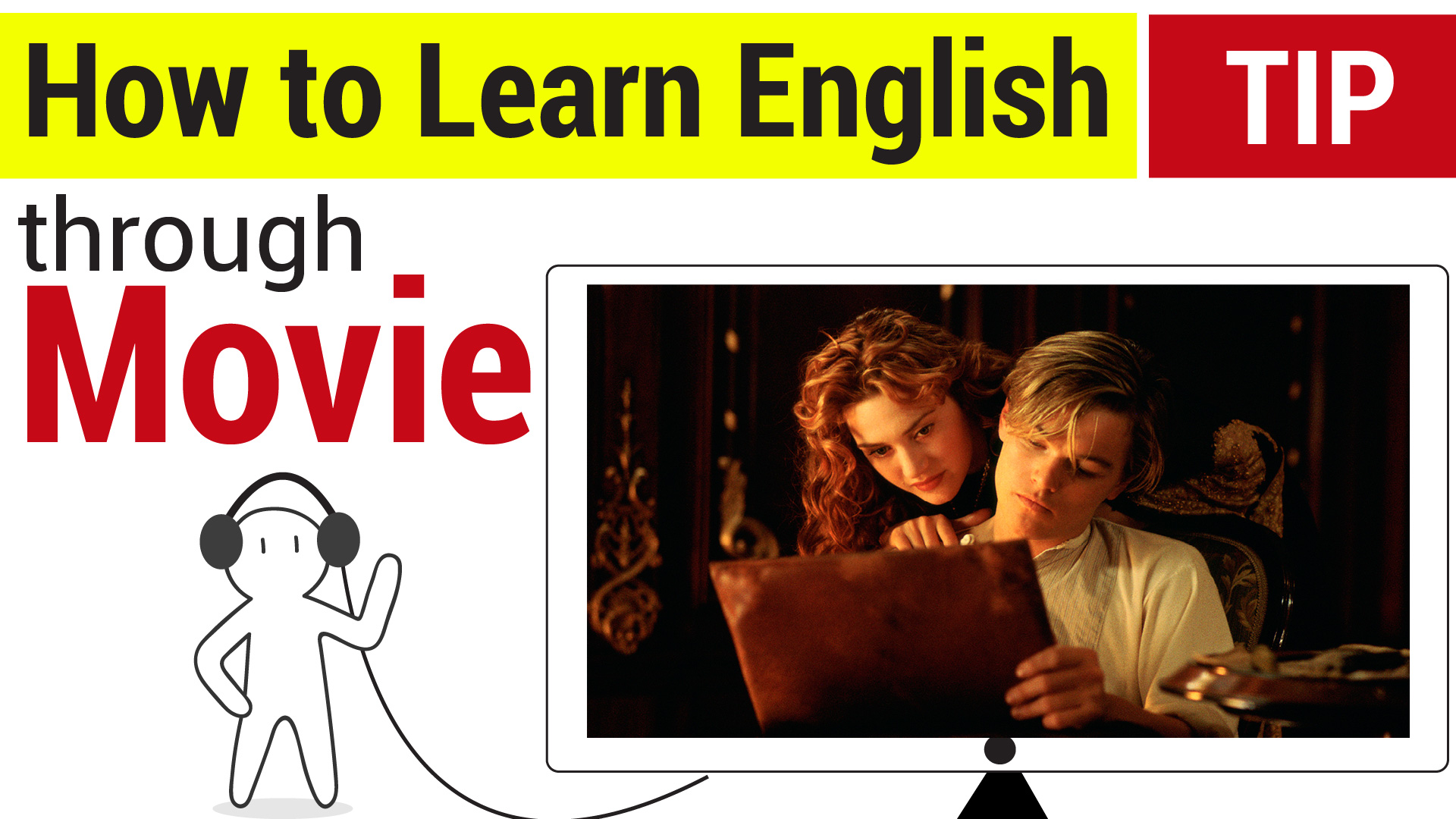 How to improve your English with MUSIC and MOVIES! - engVid