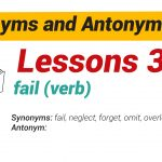 Synonyms and Antonyms Dictionary 35-01