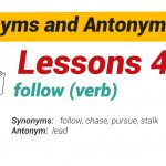 Synonyms and Antonyms Dictionary 41-01