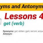 Synonyms and Antonyms Dictionary 45-01
