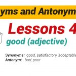 Synonyms and Antonyms Dictionary 48-01