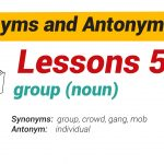 Synonyms and Antonyms Dictionary 50-01