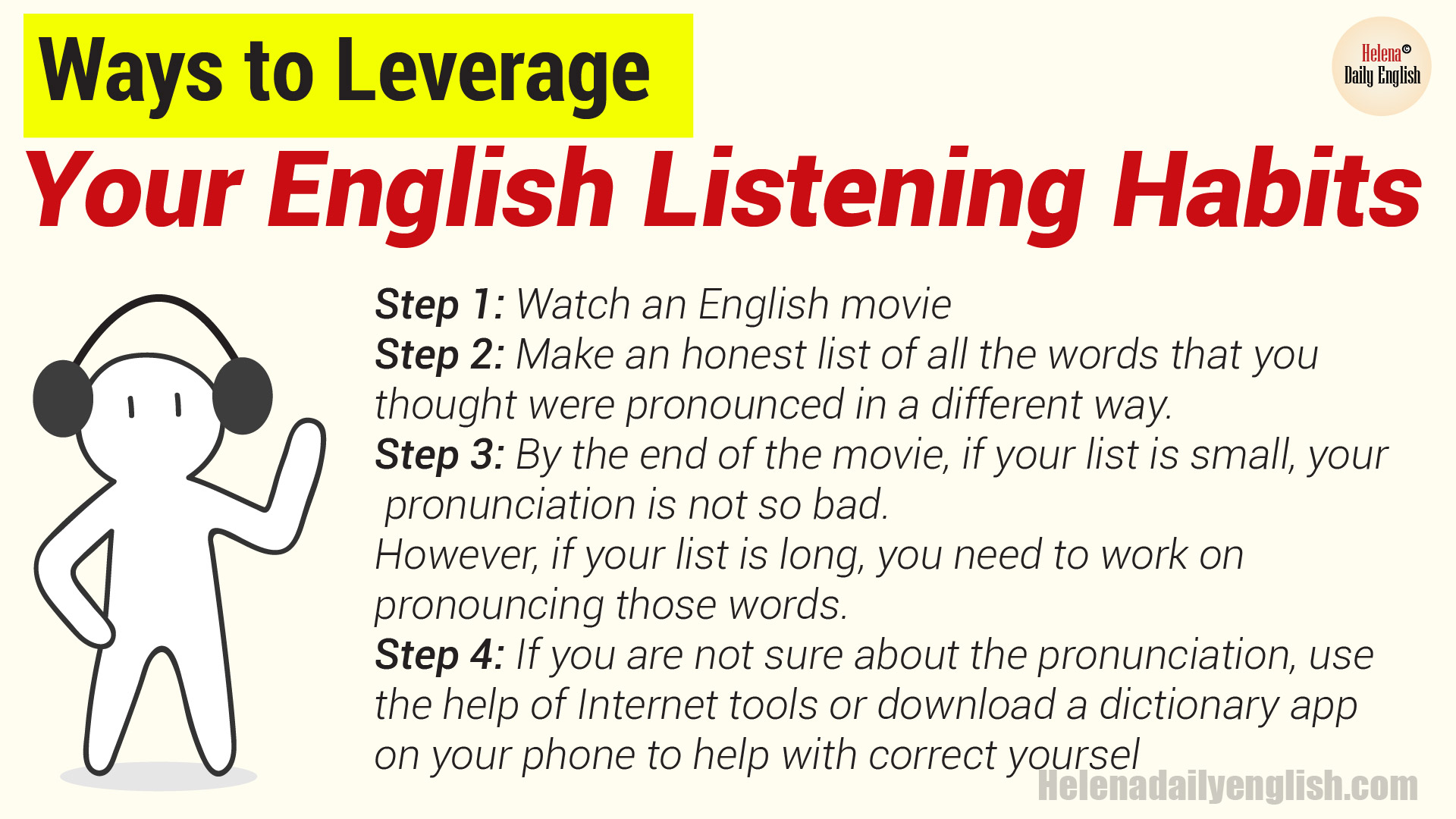 English Listening Tips: Ways to Leverage Your English Listening Habits