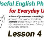 120 Useful English Phrases for Everyday Use lesson 4-01