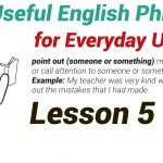 120 Useful English Phrases for Everyday Use lesson 5-01