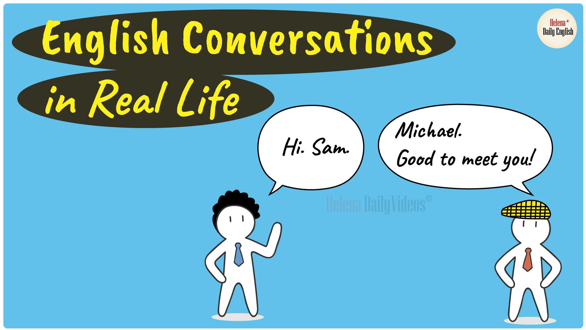 English conversation in real life-01