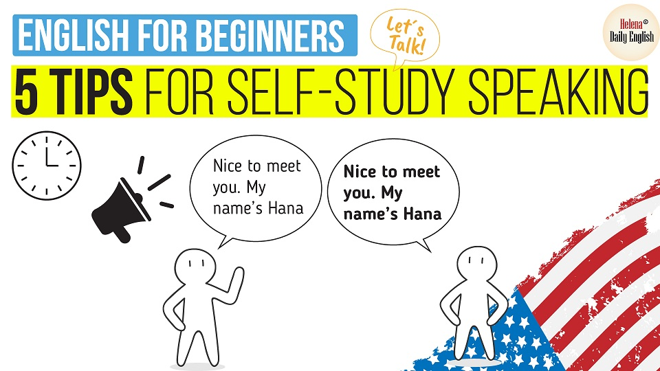 English for Beginners   5 Tips for speaking English Naturally and Effectively (Mark's Journey) Here are 5 simple tips used for self-study speaking English for beginner level. I think maybe you will find these tips are somehow simple and familiar but they work well for Mark